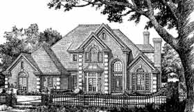 European French Country House Plan 98596 Elevation
