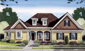 Craftsman House Plan 98600 Elevation