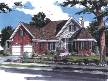 Traditional House Plan 98611 Elevation