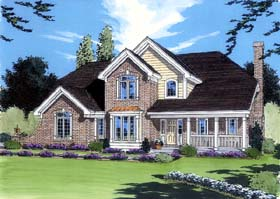 Plan Number 98617 - 2576 Square Feet