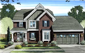 Traditional House Plan 98622 Elevation