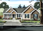 Plan Number 98623 - 1481 Square Feet
