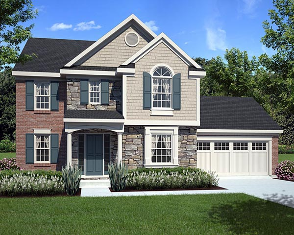 Traditional House Plan 98624 Elevation
