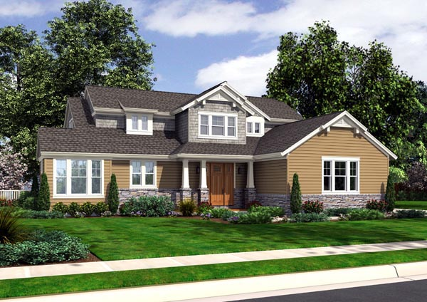 Traditional House Plan 98625 Elevation