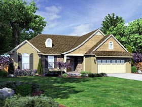 Traditional House Plan 98628 Elevation