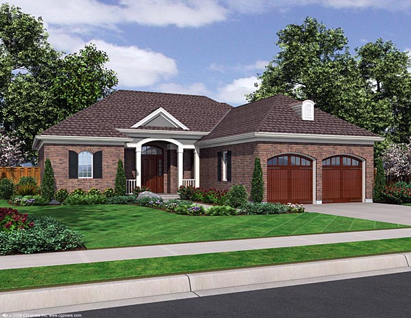 Traditional House Plan 98632 Elevation