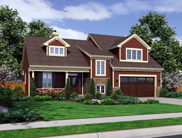 Craftsman House Plan 98633 Elevation