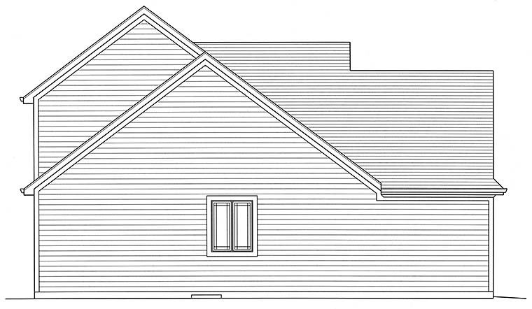Cottage, Craftsman House Plan 98642 with 4 Beds, 3 Baths, 2 Car Garage Picture 2