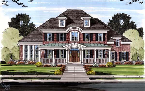 Southern Traditional House Plan 98649 Elevation