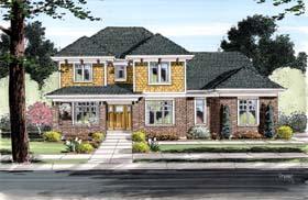 Craftsman House Plan 98651 Elevation