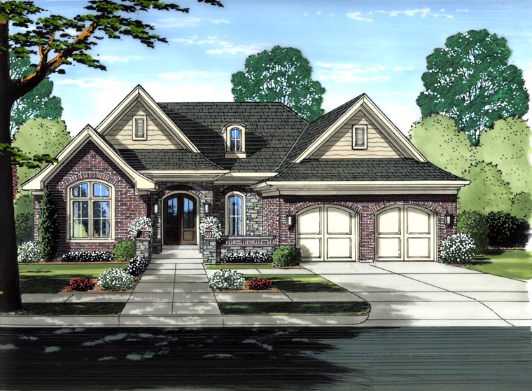 Victorian House Plan 98654 Elevation