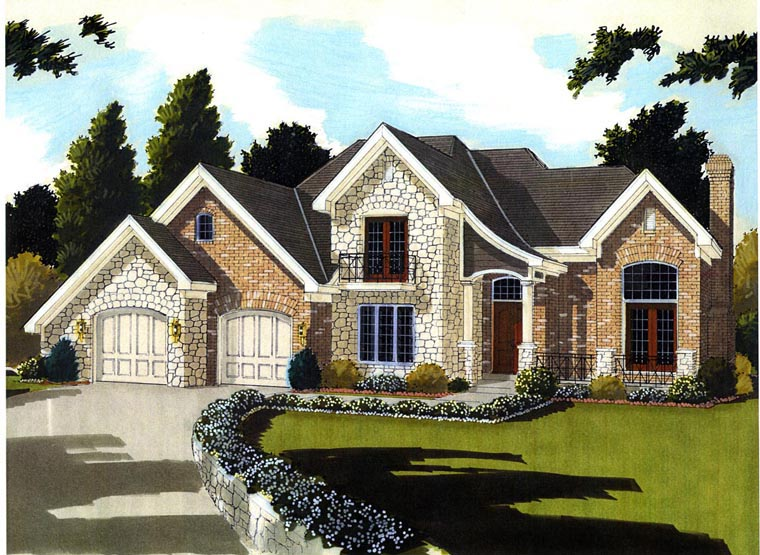 Traditional House Plan 98660 Elevation