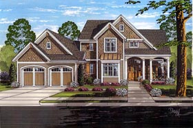 Traditional House Plan 98661 Elevation