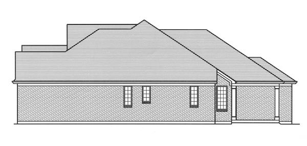Cottage, Traditional, Tudor House Plan 98664 with 3 Beds, 3 Baths, 2 Car Garage Picture 2