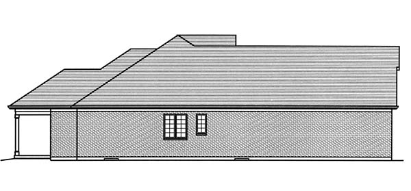 Craftsman, Traditional House Plan 98668 with 3 Beds, 2 Baths, 2 Car Garage Picture 1
