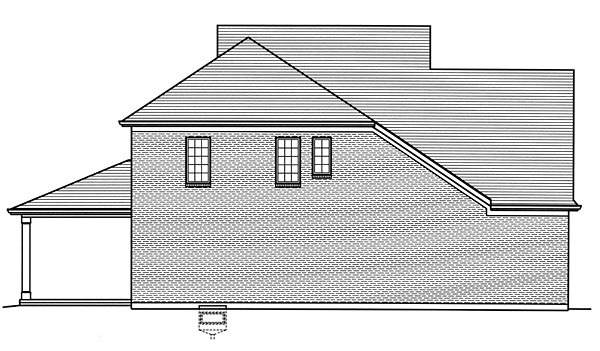 European, Traditional House Plan 98675 with 4 Beds, 3 Baths, 2 Car Garage Picture 1