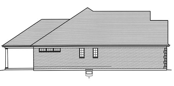 European, Traditional House Plan 98676 with 3 Beds, 2 Baths, 2 Car Garage Picture 1