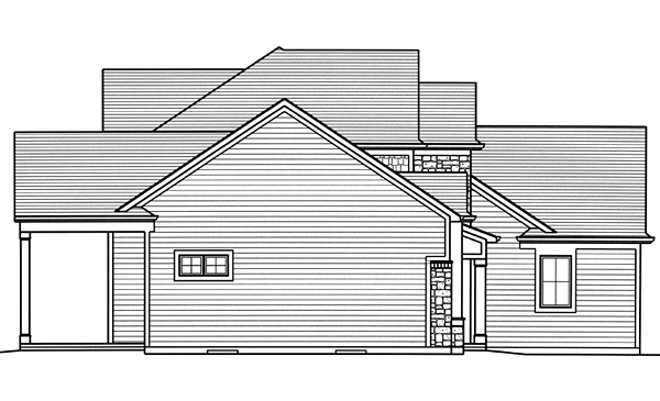 Craftsman, European, Traditional House Plan 98678 with 4 Beds, 4 Baths, 2 Car Garage Picture 1
