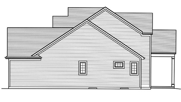 Craftsman, European, Traditional House Plan 98678 with 4 Beds, 4 Baths, 2 Car Garage Picture 2