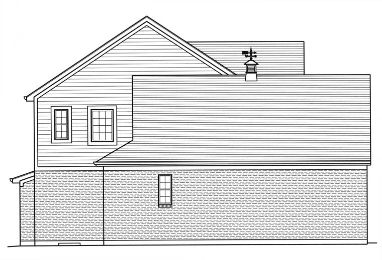Country, Traditional House Plan 98683 with 4 Beds, 3 Baths, 2 Car Garage Picture 1