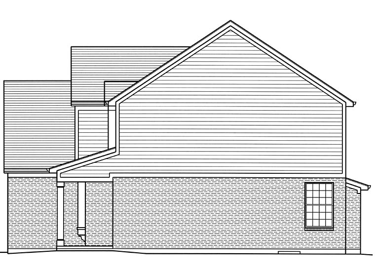 Country, Traditional House Plan 98683 with 4 Beds, 3 Baths, 2 Car Garage Picture 2