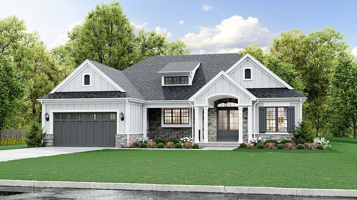 House Plan 98687