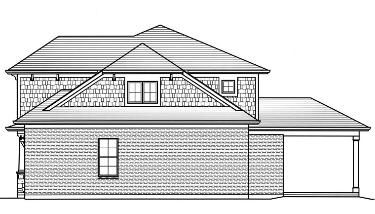 Country, Craftsman, Southern, Traditional House Plan 98689 with 4 Beds, 3 Baths, 2 Car Garage Picture 2