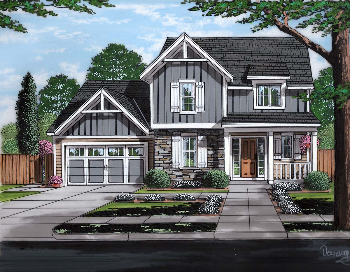 House Plan 98699