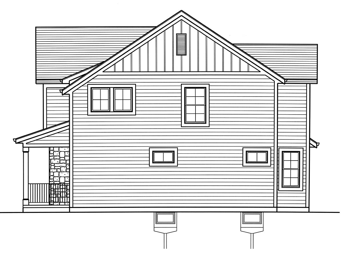 Colonial, Country, Traditional House Plan 98699 with 3 Beds, 3 Baths, 2 Car Garage Picture 1