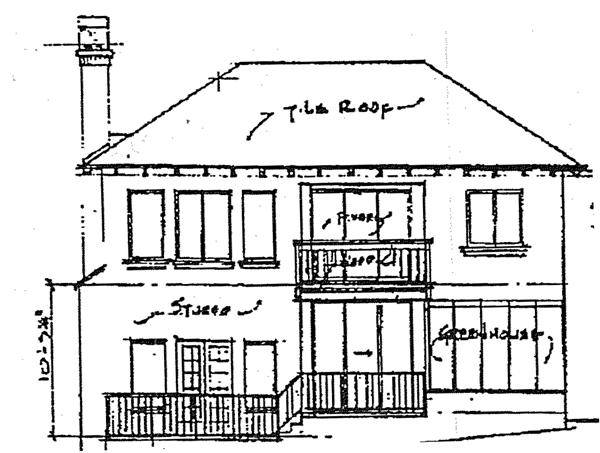 Southern House Plan 98712 Rear Elevation
