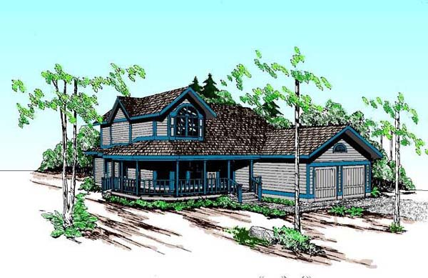 Country Farmhouse House Plan 98745 Elevation