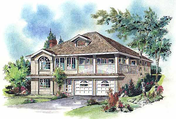 Florida Mediterranean House Plan 98801 Elevation