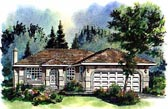 Plan Number 98805 - 1089 Square Feet