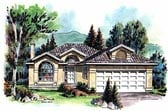 Plan Number 98806 - 1491 Square Feet