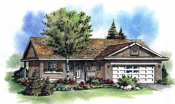 Ranch House Plan 98809 Elevation