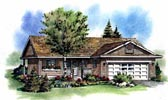 Plan Number 98809 - 1097 Square Feet