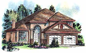 Florida Mediterranean House Plan 98812 Elevation