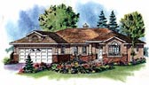 Plan Number 98813 - 1293 Square Feet