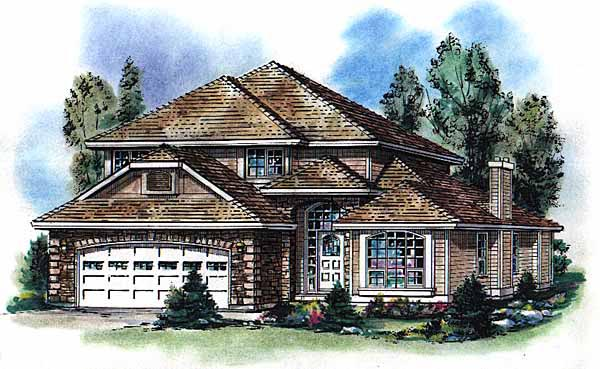 Mediterranean House Plan 98820 Elevation
