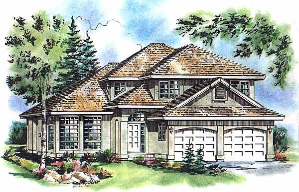 Mediterranean House Plan 98822 Elevation