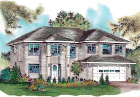 Traditional House Plan 98827 Elevation