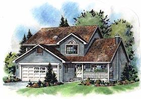 Farmhouse House Plan 98829 Elevation
