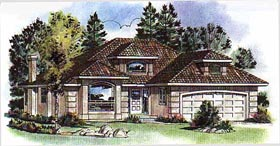 Florida House Plan 98831 Elevation