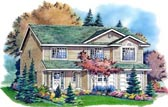 Plan Number 98834 - 1352 Square Feet