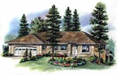 Plan Number 98835 - 1364 Square Feet