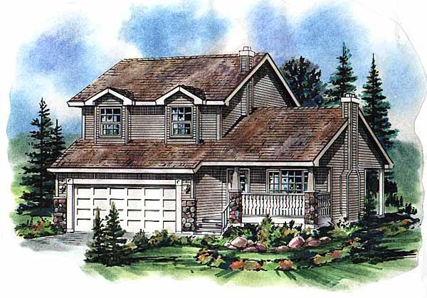 Traditional House Plan 98836 Elevation