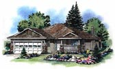 Plan Number 98837 - 1084 Square Feet