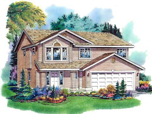 Traditional House Plan 98838 Elevation