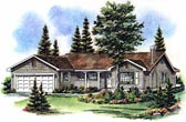 Plan Number 98840 - 1291 Square Feet