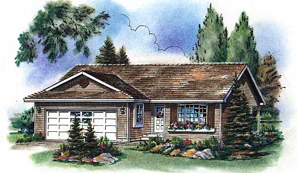 Ranch House Plan 98841 Elevation